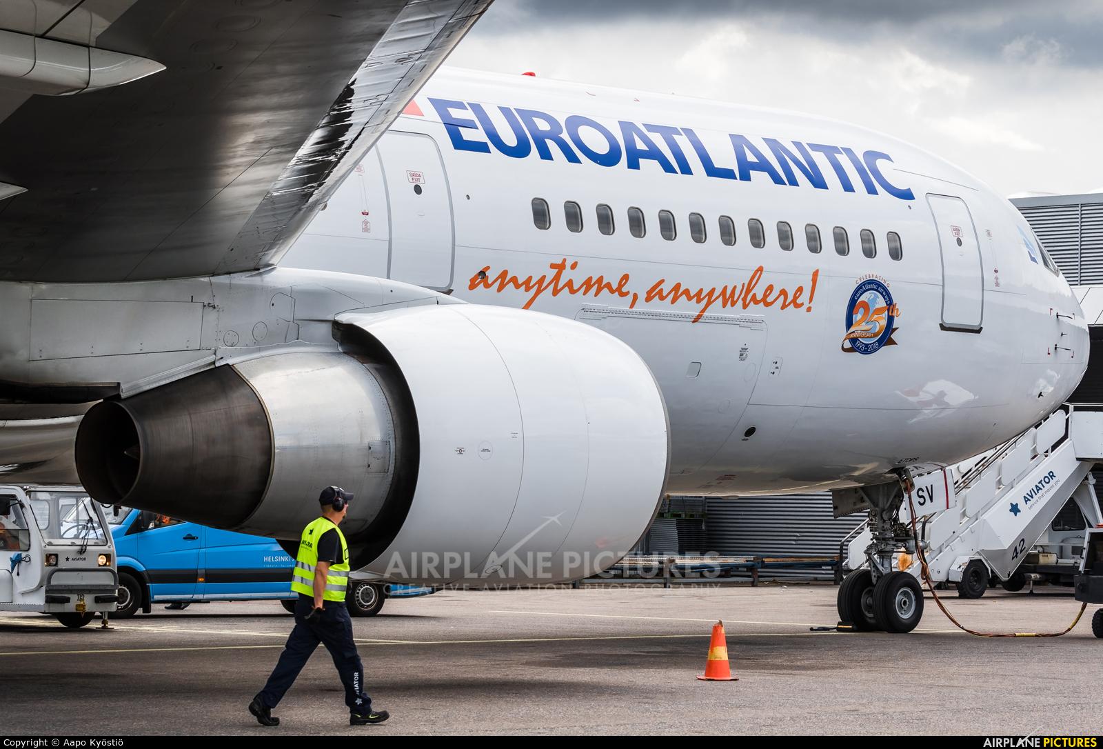 Euro Atlantic Airways CS-TSV aircraft at Helsinki - Vantaa