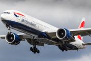 G-STBG - British Airways Boeing 777-300ER aircraft
