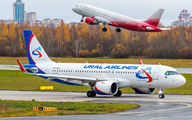 VP-BRZ - Ural Airlines Airbus A320 NEO aircraft