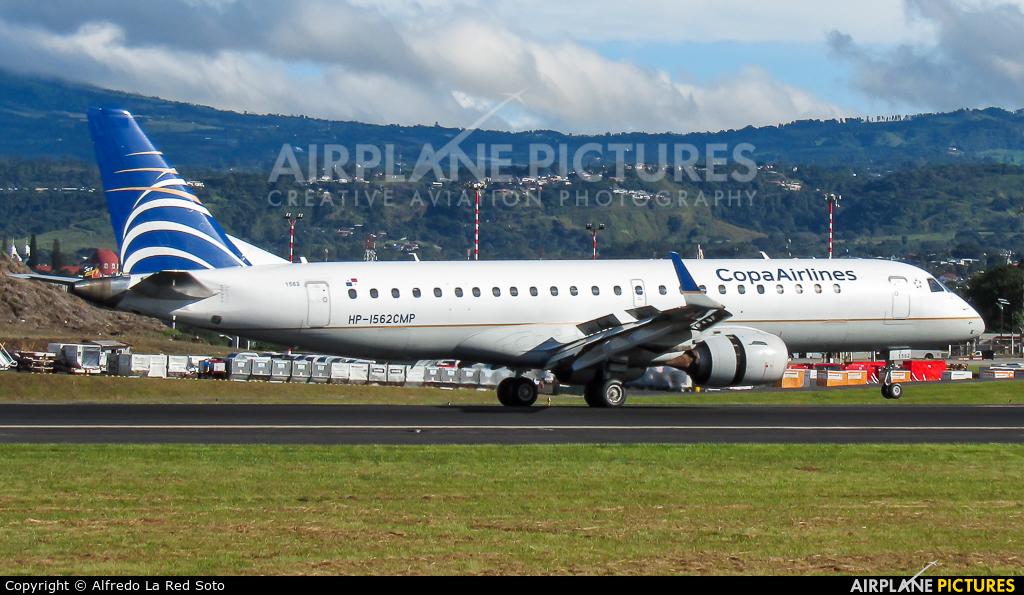 Copa Airlines HP-1562CMP aircraft at San Jose - Juan Santamaría Intl