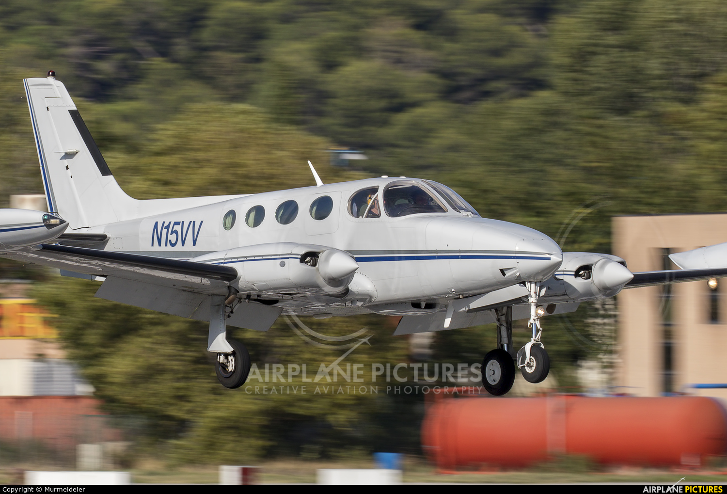Private N15VV aircraft at Cannes - Mandelieu