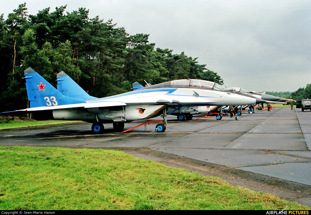 Russia - Air Force 33 aircraft at Zoersel (Oostmalle)