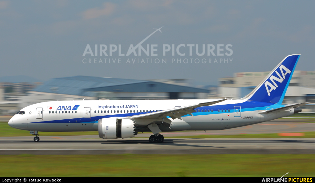 ANA - All Nippon Airways JA809A aircraft at Osaka - Itami Intl