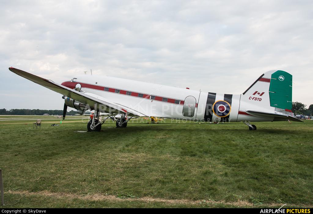Buffalo Airways C-FDTD aircraft at Oshkosh - Wittman Regional