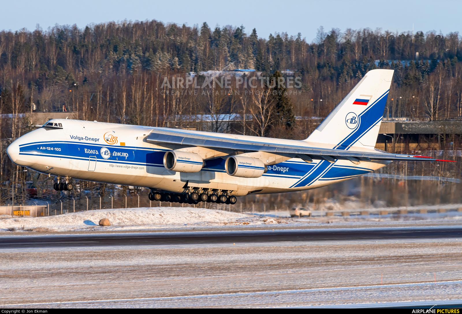 Volga Dnepr Airlines RA-82079 aircraft at Helsinki - Vantaa