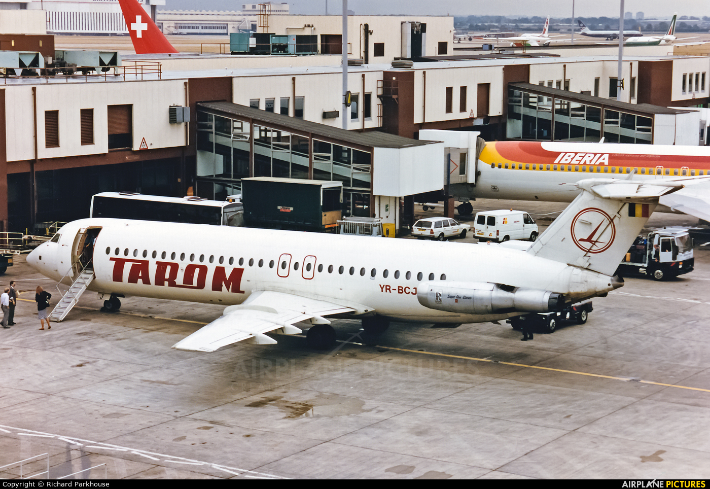 Tarom YR-BCJ aircraft at London - Heathrow