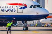 G-EUYD - British Airways Airbus A320 aircraft
