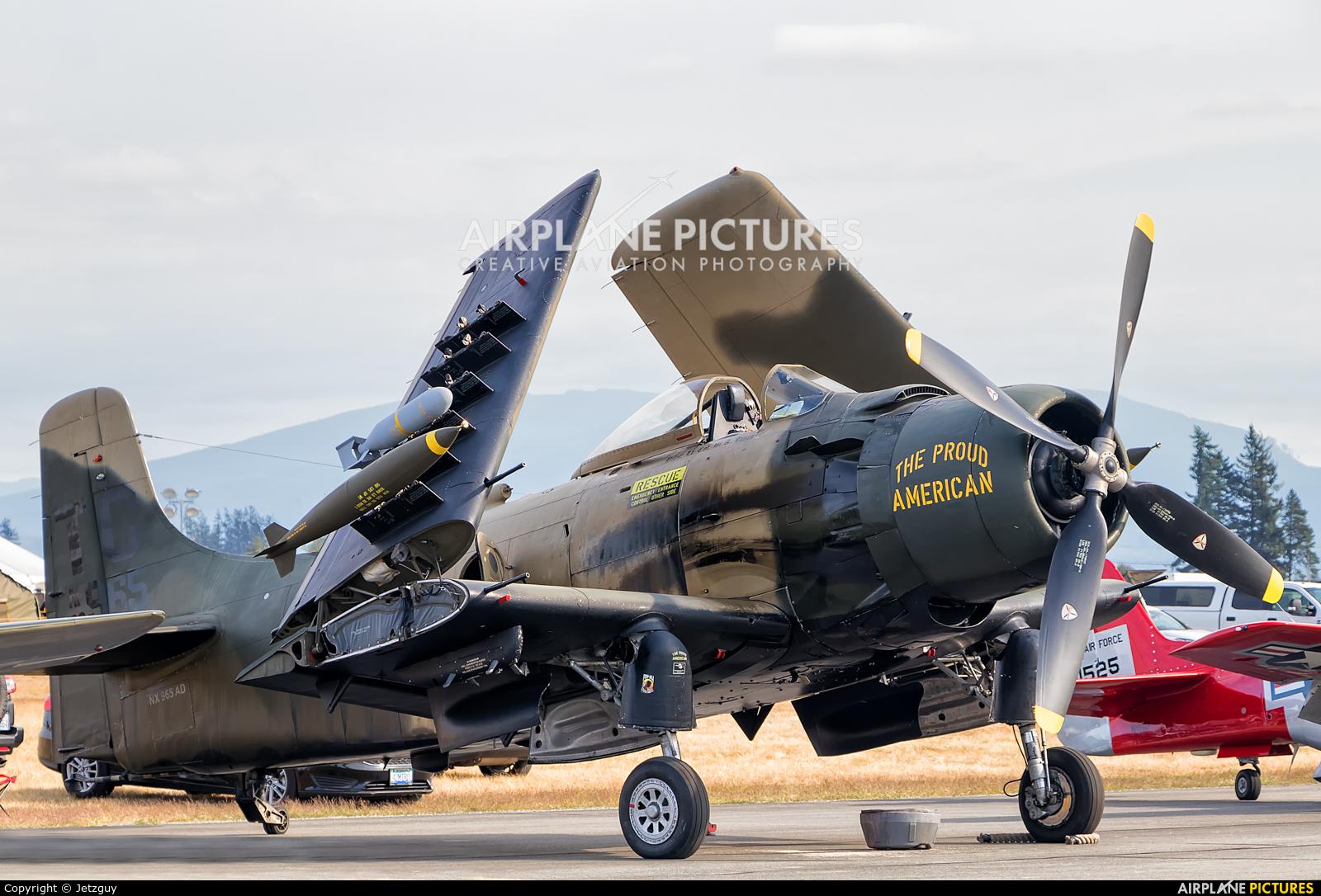 Private NX965AD aircraft at Abbotsford, BC