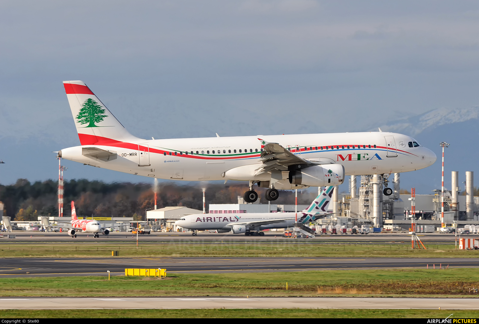 MEA - Middle East Airlines OD-MRR aircraft at Milan - Malpensa