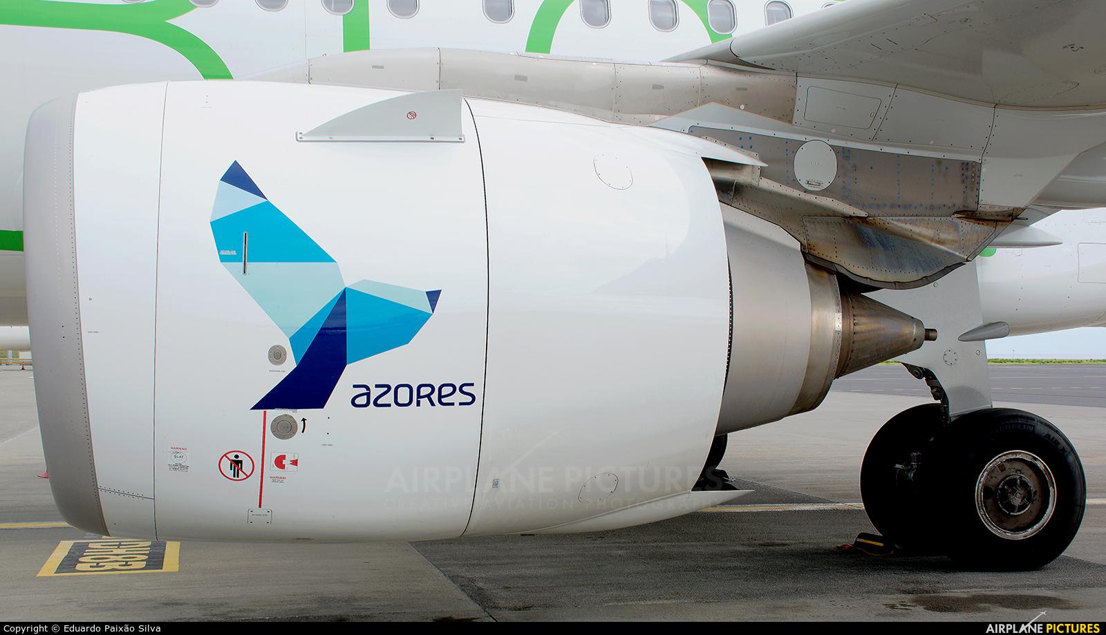 Azores Airlines CS-TSF aircraft at Azores - Ponta Delgada