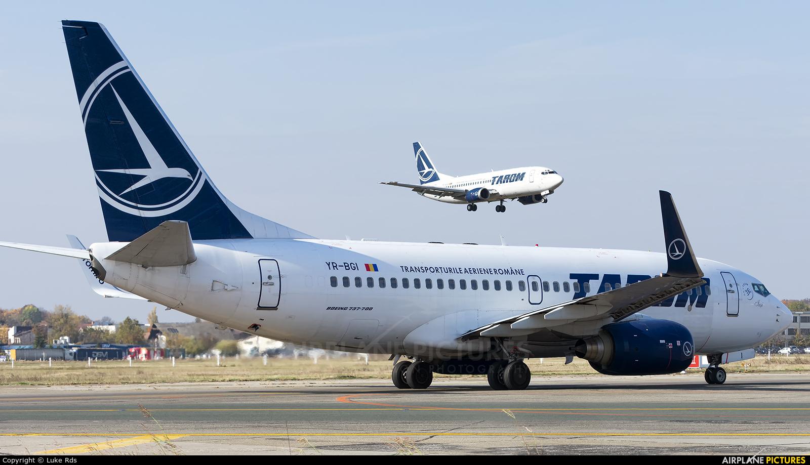 Tarom YR-BGI aircraft at Bucharest - Henri Coandă