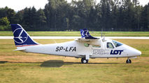 SP-LFA - LOT Flight Academy Tecnam P2006T aircraft