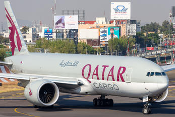 A7-BFJ - Qatar Airways Cargo Boeing 777F