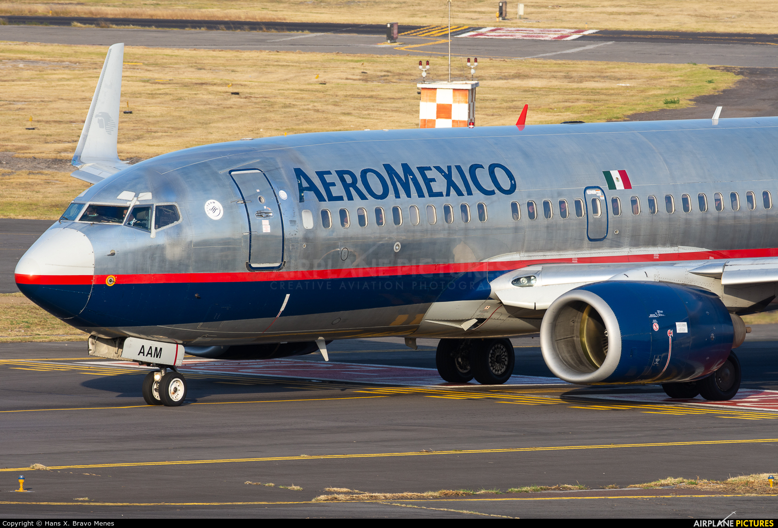 XA-DRD - Aeromexico Boeing 737-700 at Mexico City