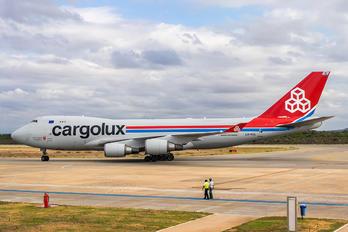 LX-KCL - Cargolux Boeing 747-400F, ERF