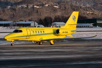 LN-SAA - Babcock Scandinavian AirAmbulance Cessna 680A Latitude