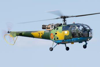 72 - Romania - Air Force IAR Industria Aeronautică Română IAR-316B Alouette III