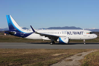 9K-AKN - Kuwait Airways Airbus A320 NEO