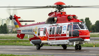 53 - Ukraine - Emergency Service Eurocopter EC225 Super Puma