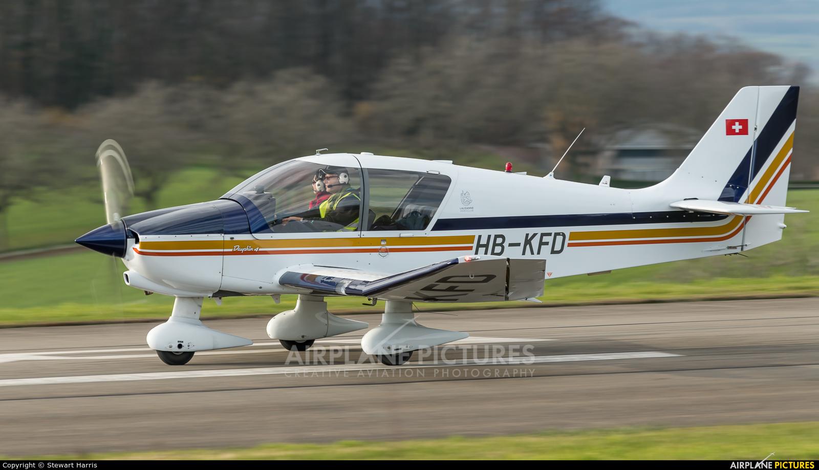 Groupement de Vol à Moteur - Lausanne HB-KFD aircraft at Lausanne - La Blécherette
