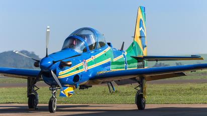 """5717 - Brazil - Air Force """"Esquadrilha da Fumaça"""" Embraer EMB-314 Super Tucano A-29A"""