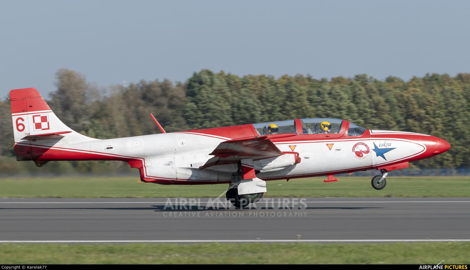 Poland - Air Force: White & Red Iskras 3H 2006 aircraft at Dęblin