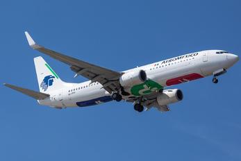 XA-FFF - Aeromexico Boeing 737-800