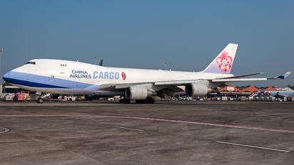 B-18722 - China Airlines Cargo Boeing 747-400F, ERF