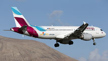 D-ABDP - Eurowings Airbus A320 aircraft