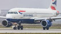 G-EUYN - British Airways Airbus A320 aircraft