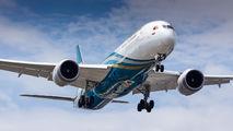 A4O-SI - Oman Air Boeing 787-9 Dreamliner aircraft