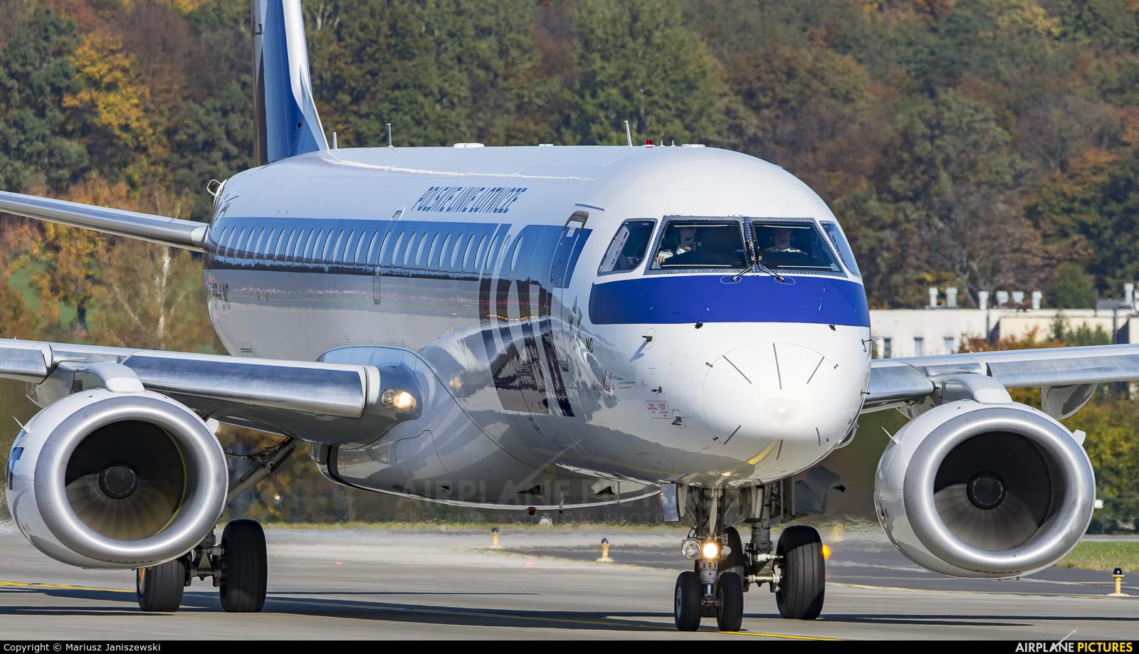 LOT - Polish Airlines SP-LNC aircraft at Kraków - John Paul II Intl