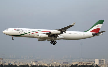 EP-IGA - Iran - Government Airbus A340-300