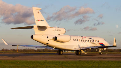 D-AGBF - Volkswagen Air Services Dassault Falcon 7X