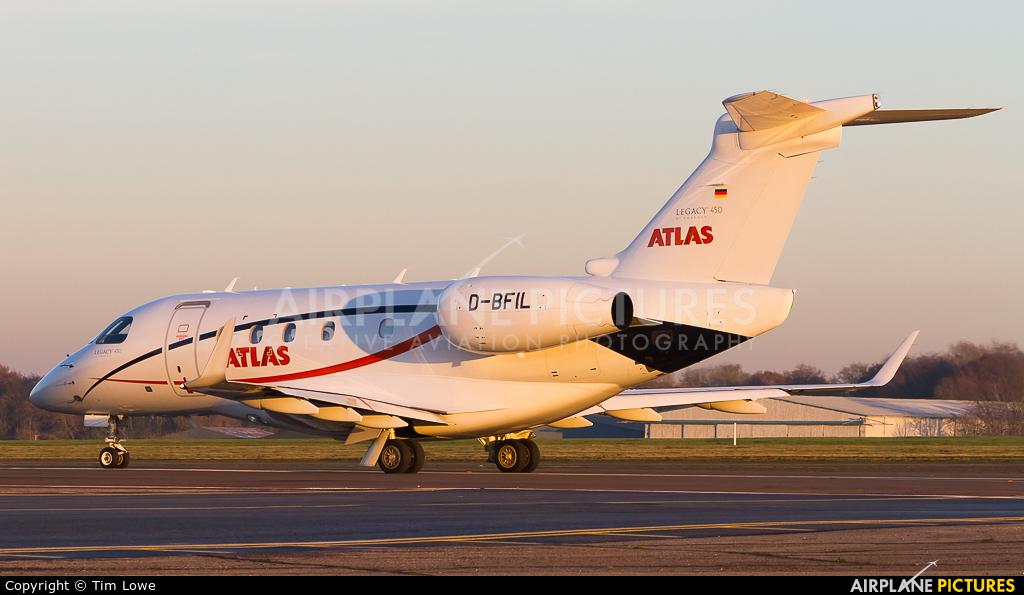 Atlas Air D-BFIL aircraft at Biggin Hill