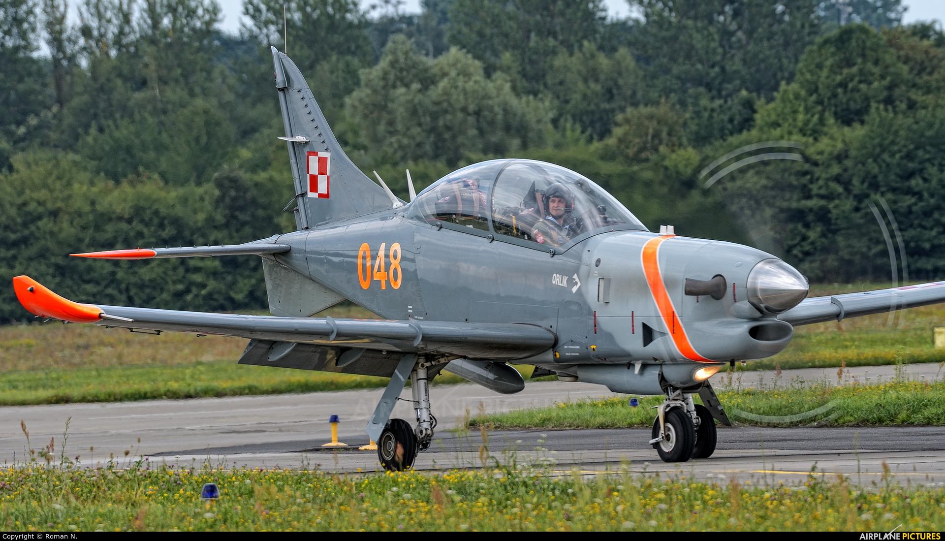 "Poland - Air Force ""Orlik Acrobatic Group"" 048 aircraft at Gdynia- Babie Doły (Oksywie)"
