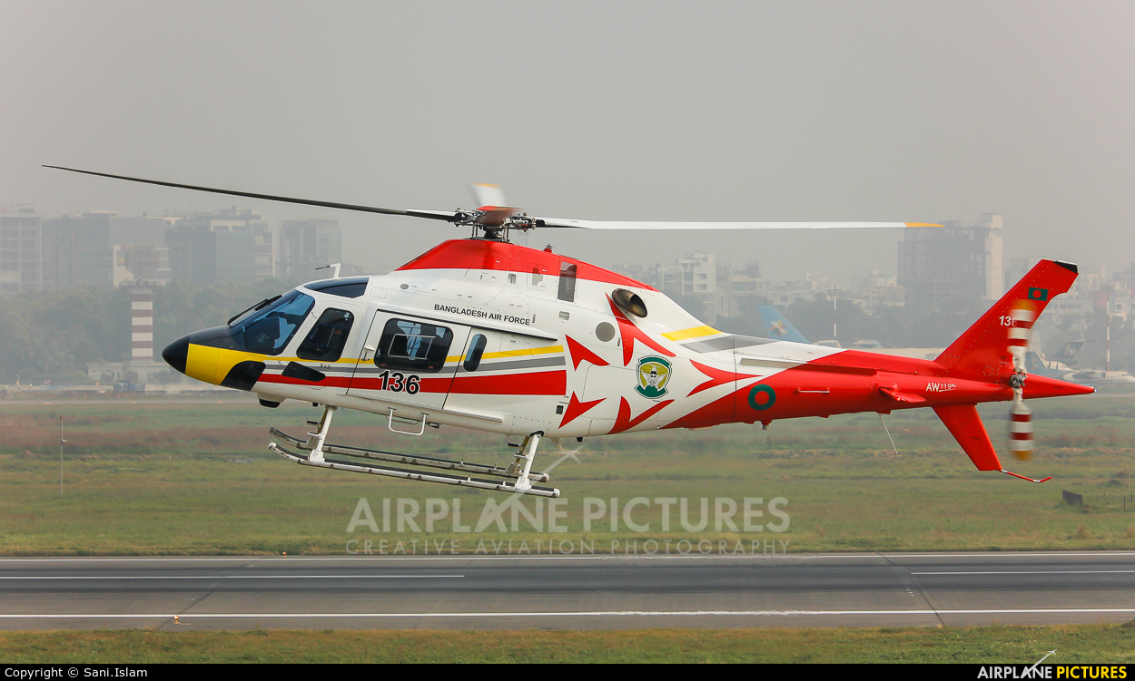 Bangladesh - Air Force 136 aircraft at Dhaka - Hazrat Shahjala Intl