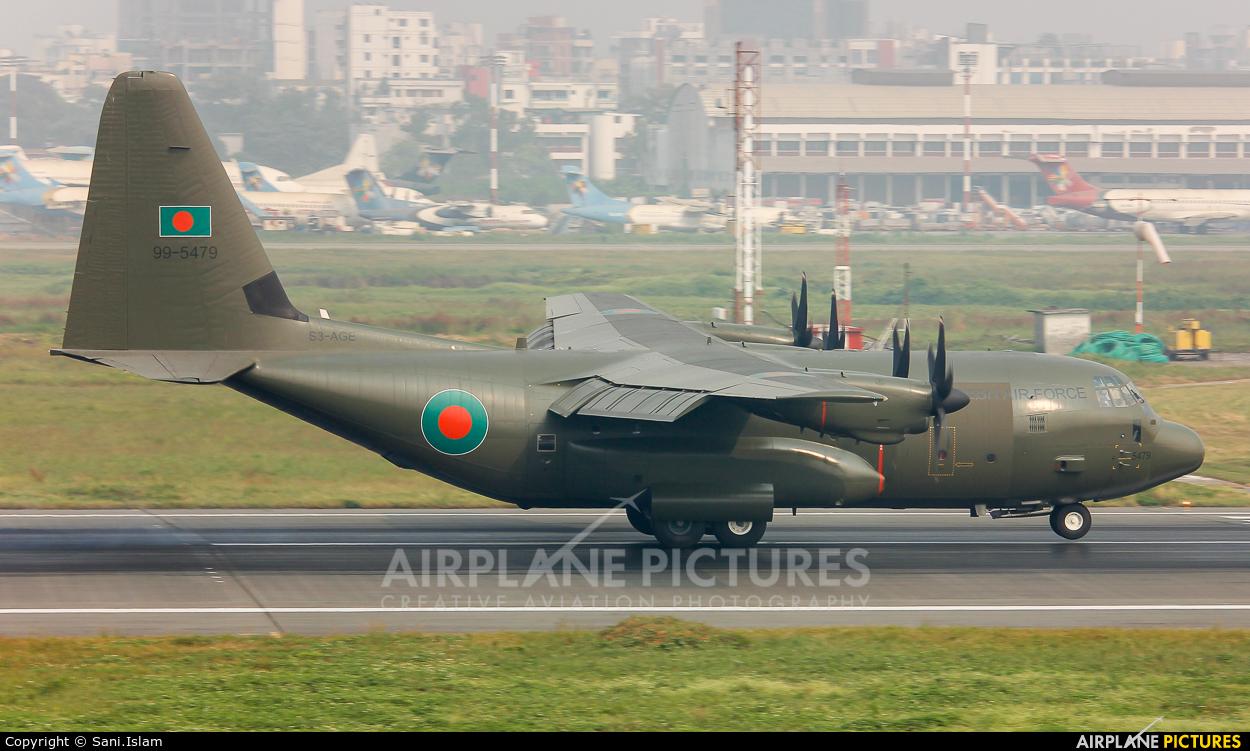 Bangladesh - Air Force S3-AGE aircraft at Dhaka - Hazrat Shahjala Intl