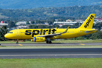 N643NK - Spirit Airlines Airbus A320