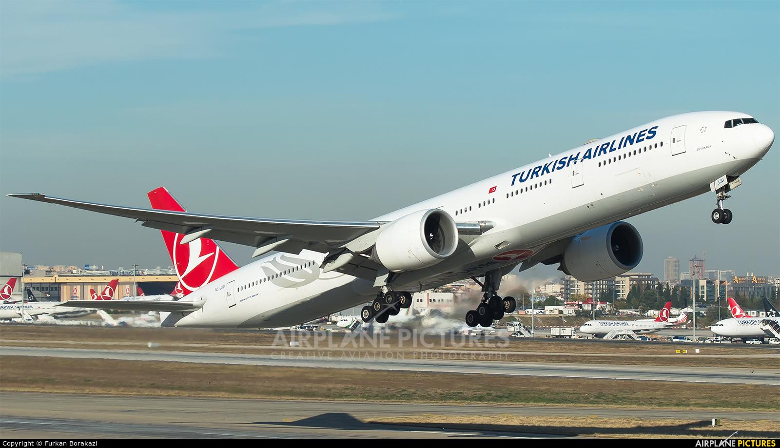 Turkish Airlines TC-JJU aircraft at Istanbul - Ataturk