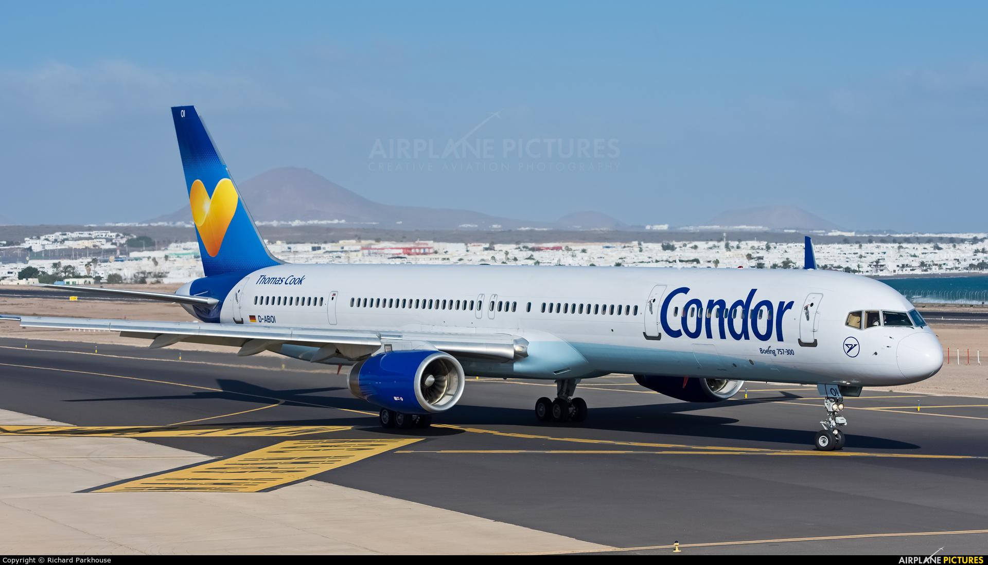 Condor D-ABOI aircraft at Lanzarote - Arrecife