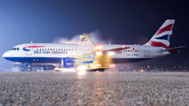 G-EUUO - British Airways Airbus A320 aircraft