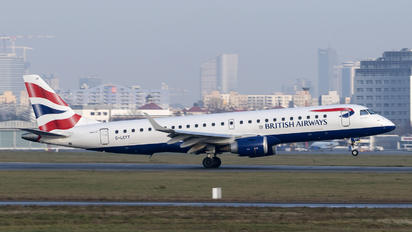 G-LCYT - British Airways - City Flyer Embraer ERJ-190 (190-100)