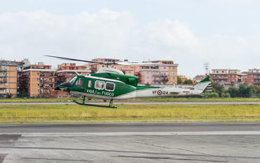 VF124 - Italy - Vigili del Fuoco Bell 412EP
