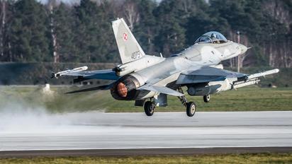 4073 - Poland - Air Force Lockheed Martin F-16C block 52+ Jastrząb