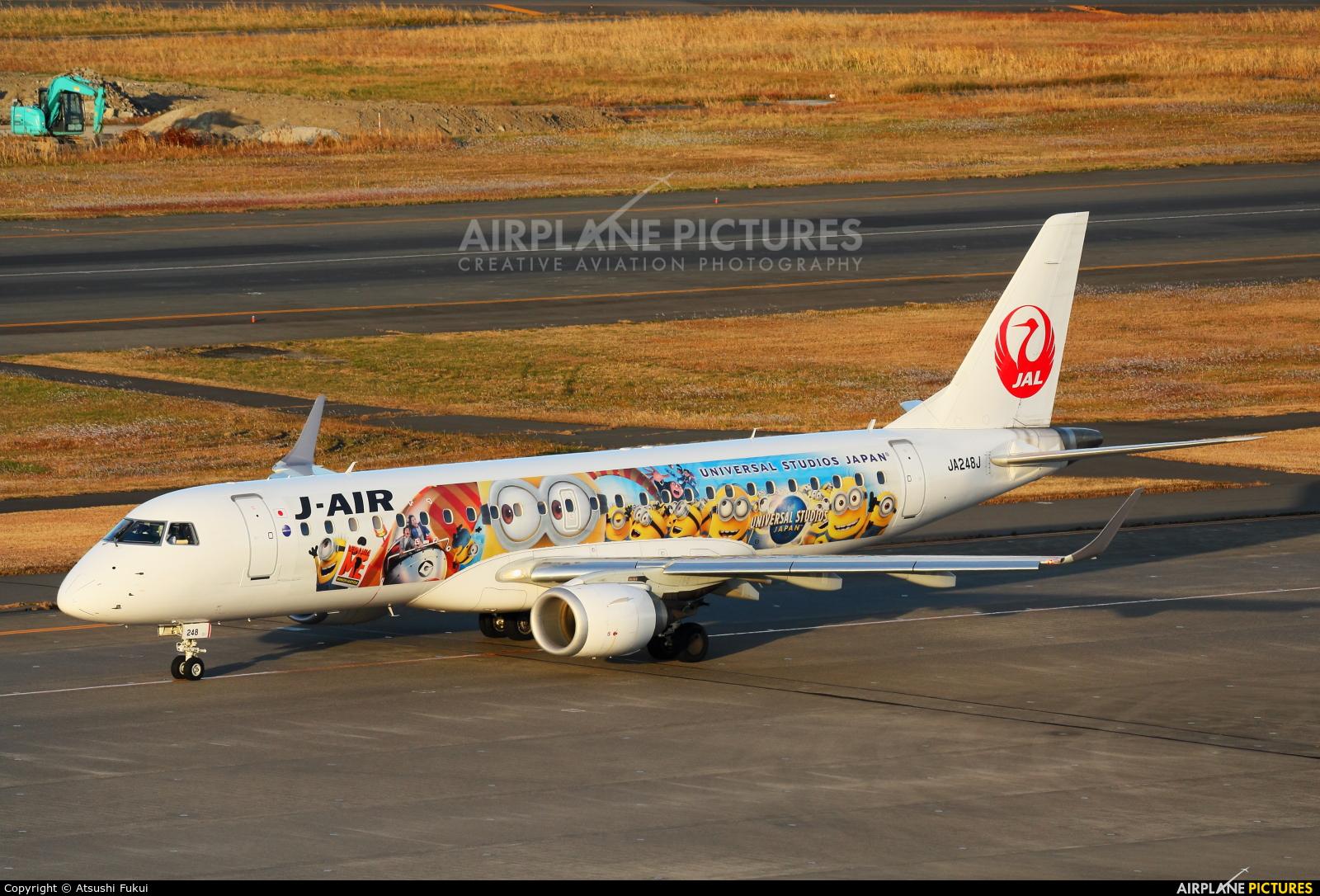 J-Air JA248J aircraft at Tokyo - Haneda Intl