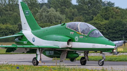 8820 - Saudi Arabia - Air Force: Saudi Hawks British Aerospace Hawk T.1/ 1A