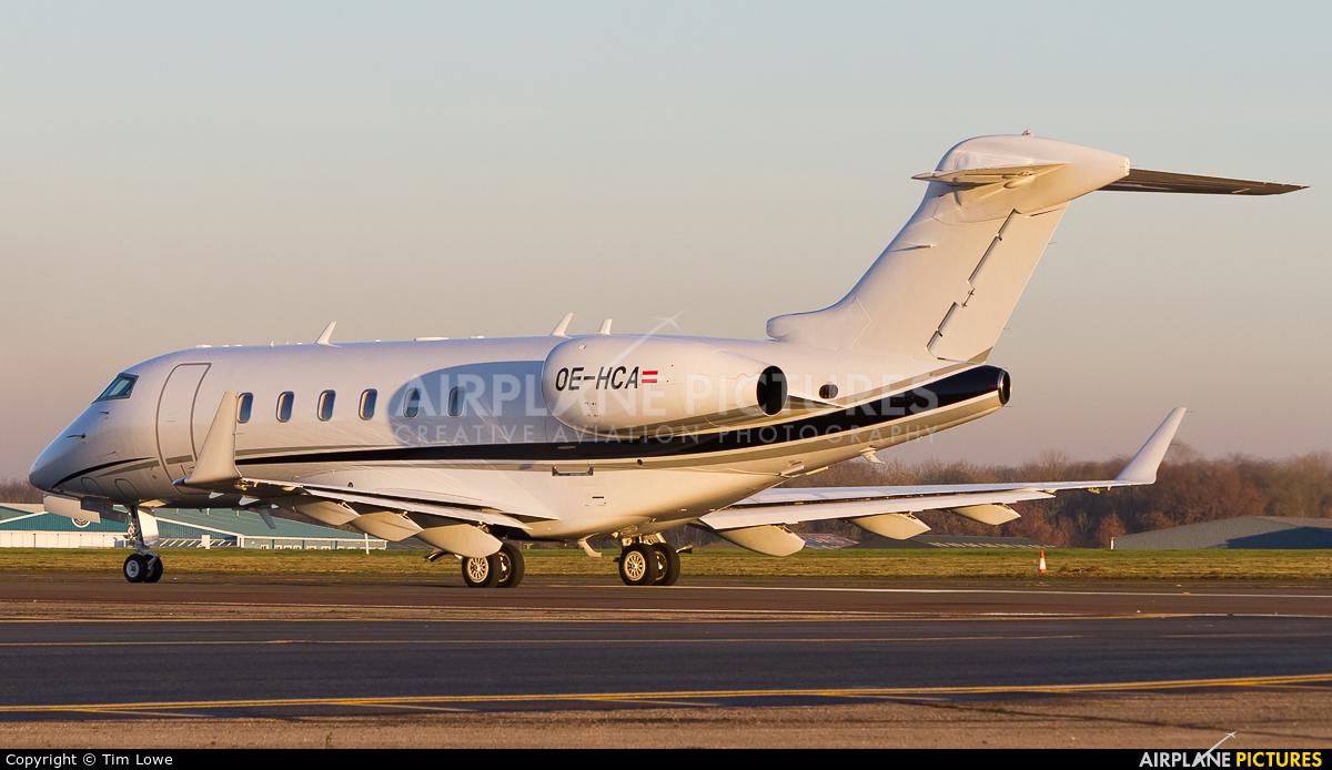 AVAG Air OE-HCA aircraft at Biggin Hill