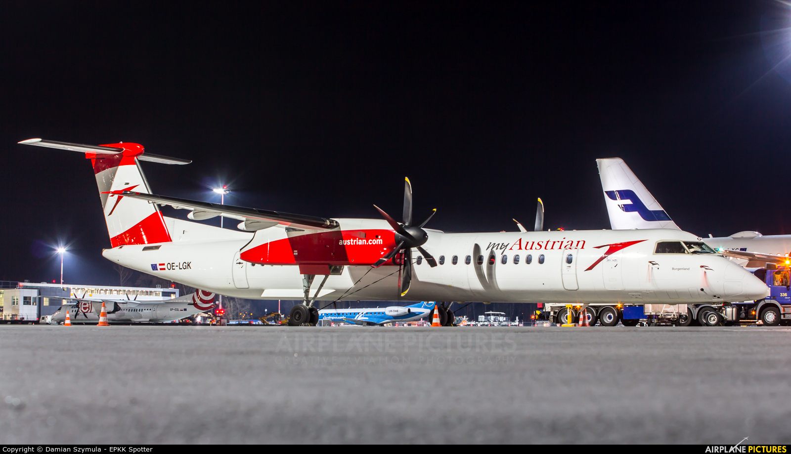Austrian Airlines/Arrows/Tyrolean OE-LGK aircraft at Kraków - John Paul II Intl