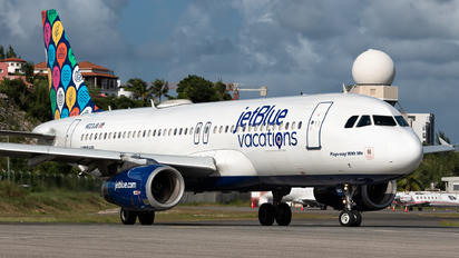N623JB - JetBlue Airways Airbus A320